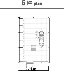 6坪 plan