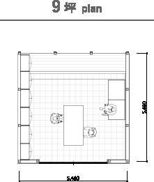 9坪 plan