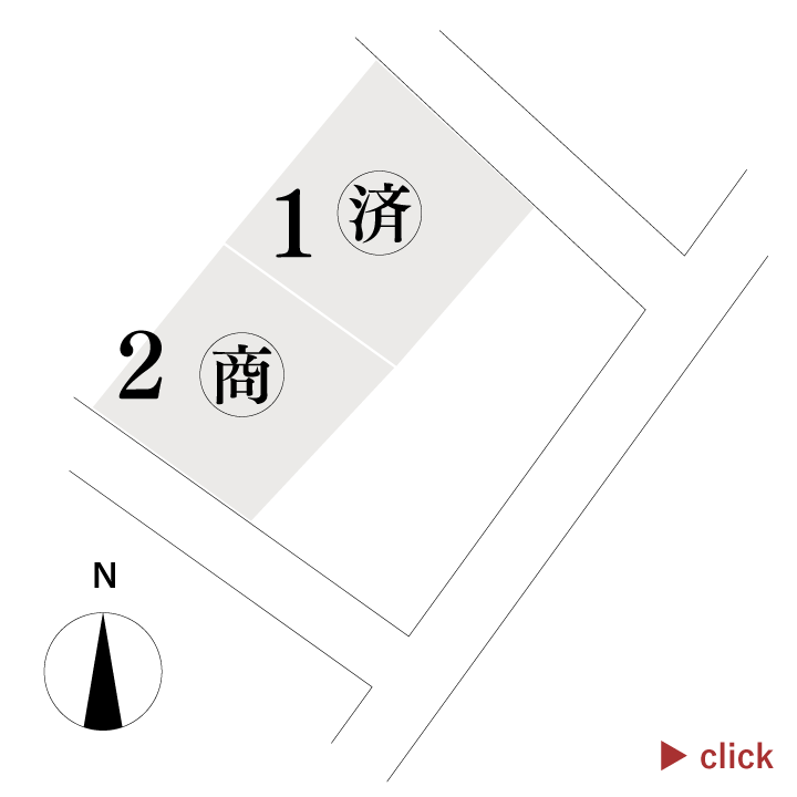 枚田分譲地(2区画)